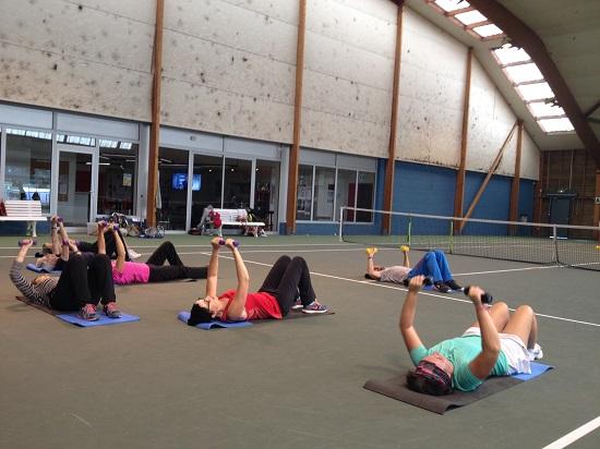 Séance de fitness au MSATC pour un groupe Sport Santé