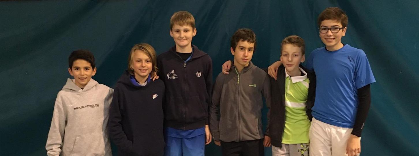Les jeunes joueurs du Sport-Etudes du MSATC