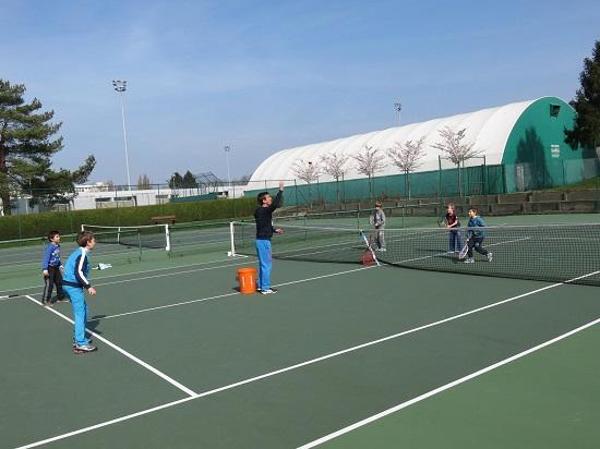 Courts de tennis extérieurs sur dur du Mont-Saint-Aignan Tennis Club